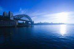 Puerto de Sydney, Australia. Foto de archivo libre de regalías