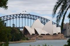 Puerto de Sydney, Australia fotos de archivo