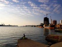 Puerto de Taiwán Gaoxiong imagen de archivo