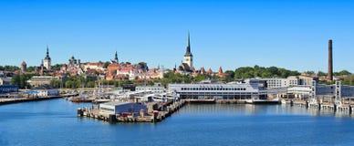Puerto de Tallinn Fotografía de archivo