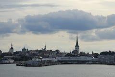 Puerto de Tallinn foto de archivo libre de regalías