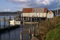 Puerto de Tokeland Fotos de archivo