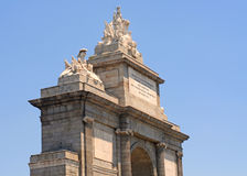 Puerto de toledo, madrid. Fragment of the Puerto de Toledo in Madrid, capital of Spain, Europe Royalty Free Stock Image