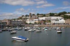 Puerto de Torquay Imagen de archivo