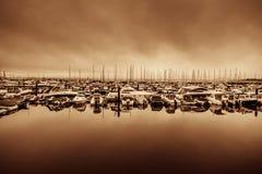 Puerto de Torquay Imágenes de archivo libres de regalías