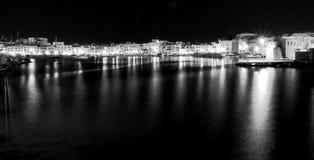 Puerto de Trani Imágenes de archivo libres de regalías