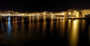 Puerto de Trani Fotos de archivo libres de regalías
