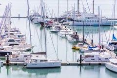 Puerto de transbordador Imágenes de archivo libres de regalías