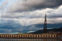Puerto de Trieste Fotografía de archivo