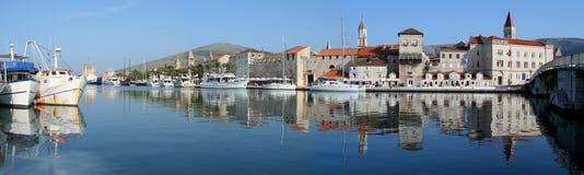 Puerto de Trogir imágenes de archivo libres de regalías