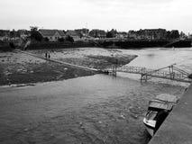 Puerto de Trouville Fotografía de archivo libre de regalías