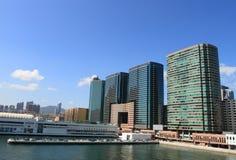 Puerto de Tsimshatsui Imágenes de archivo libres de regalías