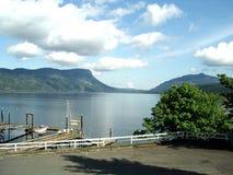 Puerto de Uclulet Foto de archivo libre de regalías