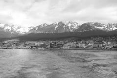 Puerto de Ushuaia Fotos de archivo libres de regalías