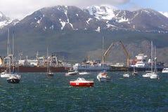 Puerto de Ushuaia Imagen de archivo