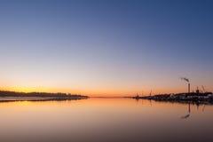 Puerto de Vaasa fotos de archivo libres de regalías