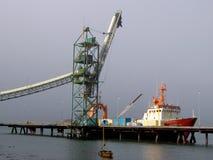 Puerto de Valdivia, Chile Imágenes de archivo libres de regalías