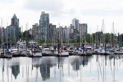 Puerto de Vancouver Imágenes de archivo libres de regalías