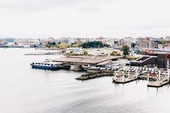 Puerto de Vancouver imagen de archivo libre de regalías