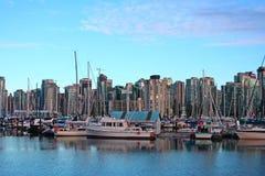 Puerto de Vancouver. Imagen de archivo libre de regalías