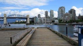 Puerto de Vancuver Foto de archivo