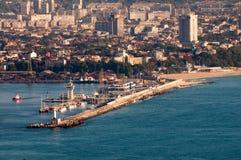 Puerto de Varna Imagen de archivo libre de regalías