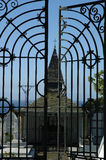 Puerto de Vega Cemetery Stockfoto