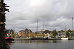 Puerto de Vejle Fotografía de archivo