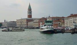 Puerto de Venecia, Italia Fotos de archivo libres de regalías