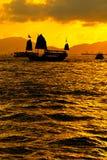 Puerto de Victoria foto de archivo libre de regalías