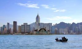 Puerto de Victoria, Hong-Kong Fotos de archivo libres de regalías