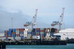 Puerto de Wellington Fotos de archivo libres de regalías
