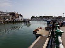 Puerto de Weymouth Fotos de archivo