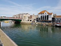Puerto de Weymouth Imagen de archivo libre de regalías