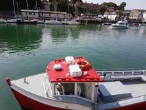 Puerto de Weymouth Imágenes de archivo libres de regalías