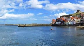 Puerto de Whitby en Whitby, North Yorkshire, Inglaterra Imágenes de archivo libres de regalías