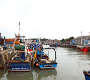 Puerto de Whitstable Imagen de archivo libre de regalías