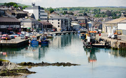Puerto de Wicklow Imagen de archivo libre de regalías