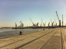 Puerto del anuncio publicitario de Montevideo Imagenes de archivo