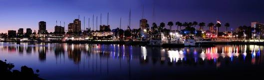 Puerto del arco iris Foto de archivo libre de regalías