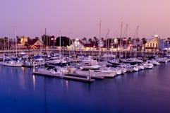 Puerto del arco iris de Long Beach Imagenes de archivo