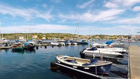 Puerto del barco de Marstrand metrajes