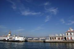 Puerto del barco de vapor Imagenes de archivo