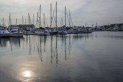 Puerto del barco, puerto Aransas Tejas Fotos de archivo libres de regalías