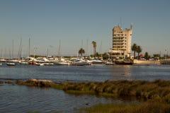 Puerto Del Buceo, Montevideo Uruguay Stockfoto