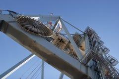 Puerto del cargo Imagen de archivo libre de regalías