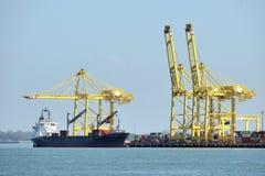 Puerto del cargo de Penang Imagen de archivo libre de regalías
