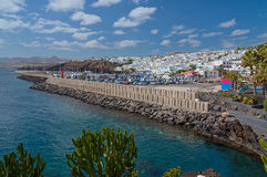 Puerto del Carmen Lanzarote Spain Royalty Free Stock Images