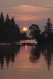 Puerto del Chippewa imagen de archivo libre de regalías