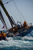 Puerto del comienzo de la raza del océano de Volvo nuevo Fotos de archivo libres de regalías